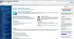 Portal SAP Community Network